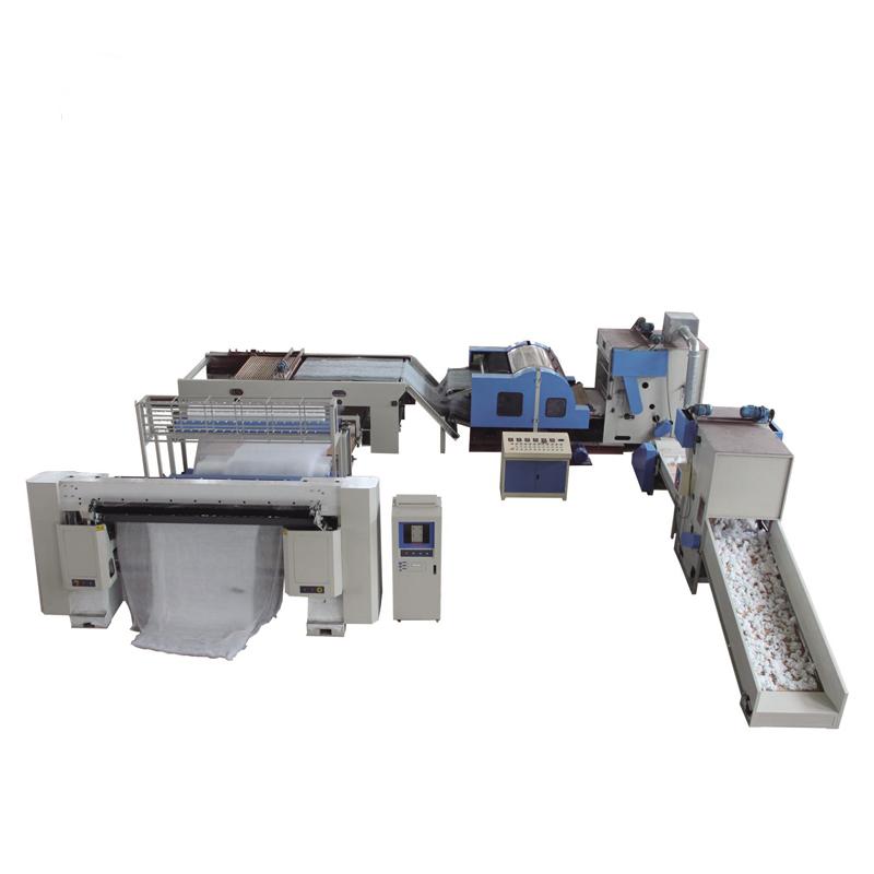 Multi-Needle Quilting machine production Line